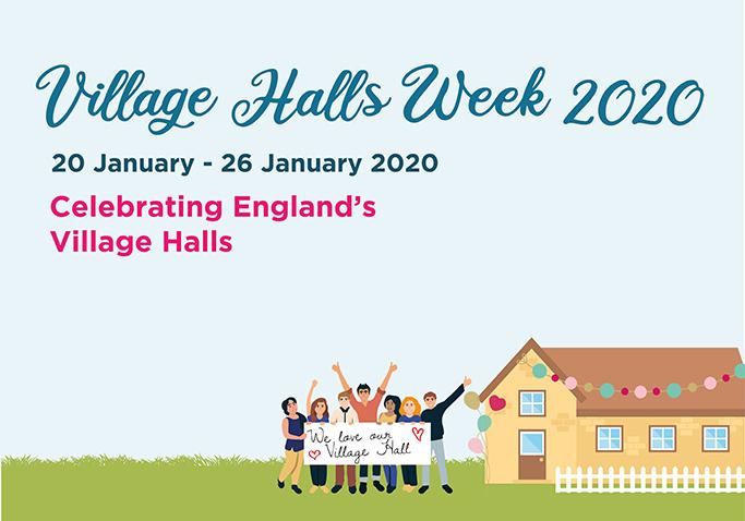 Village Halls Week 2020 – Sign Up for your Free Marketing Pack