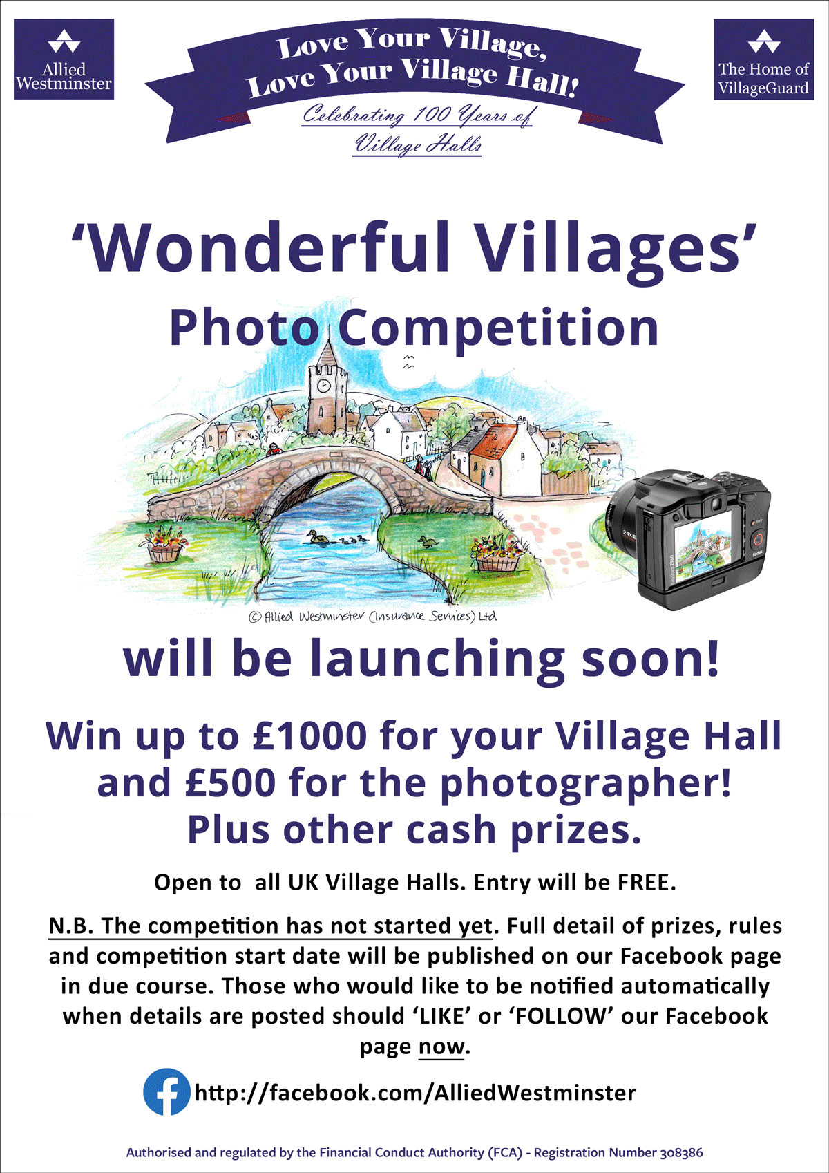 HOT OFF THE PRESS COULD YOUR VILLAGE HALL USE £1000