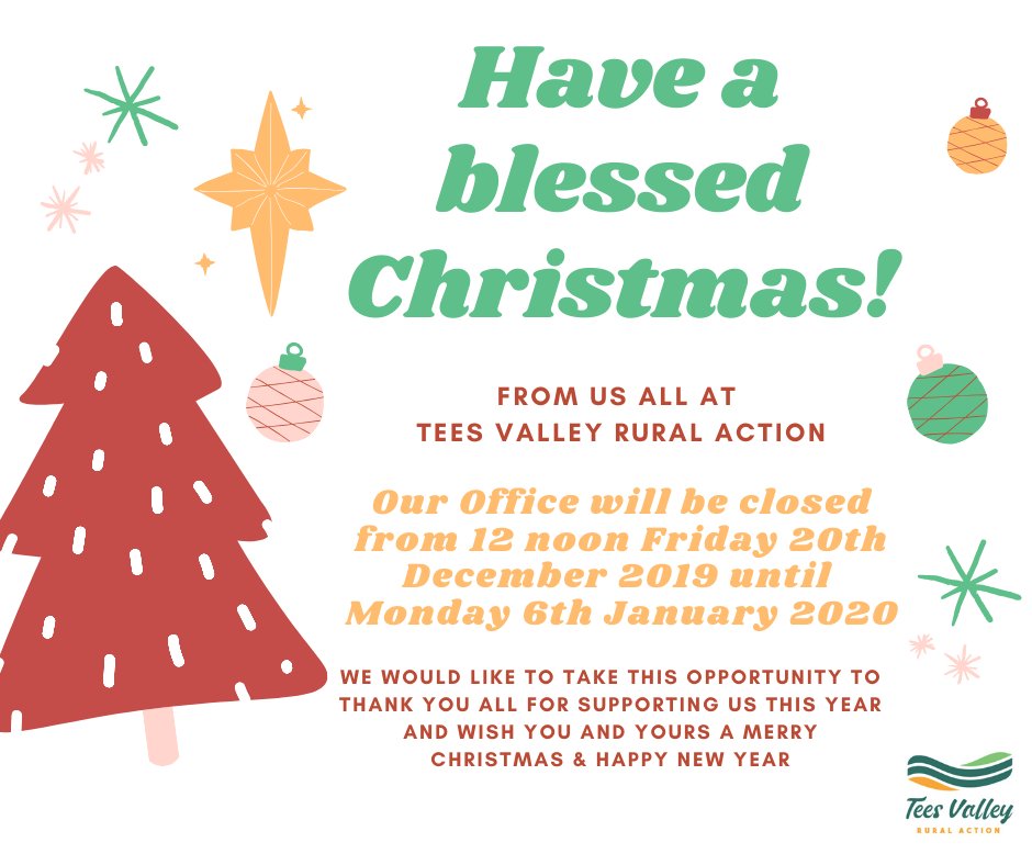 Christmas Wishes and Opening Times