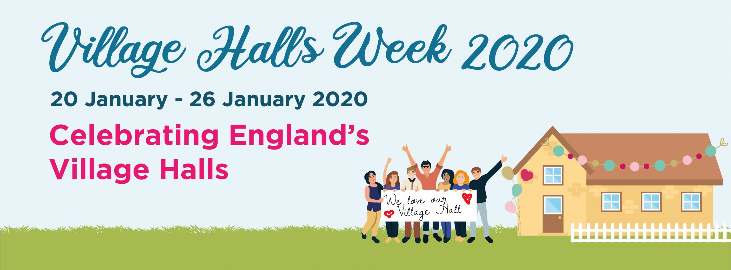 #VillageHallsWeek 2020 its here