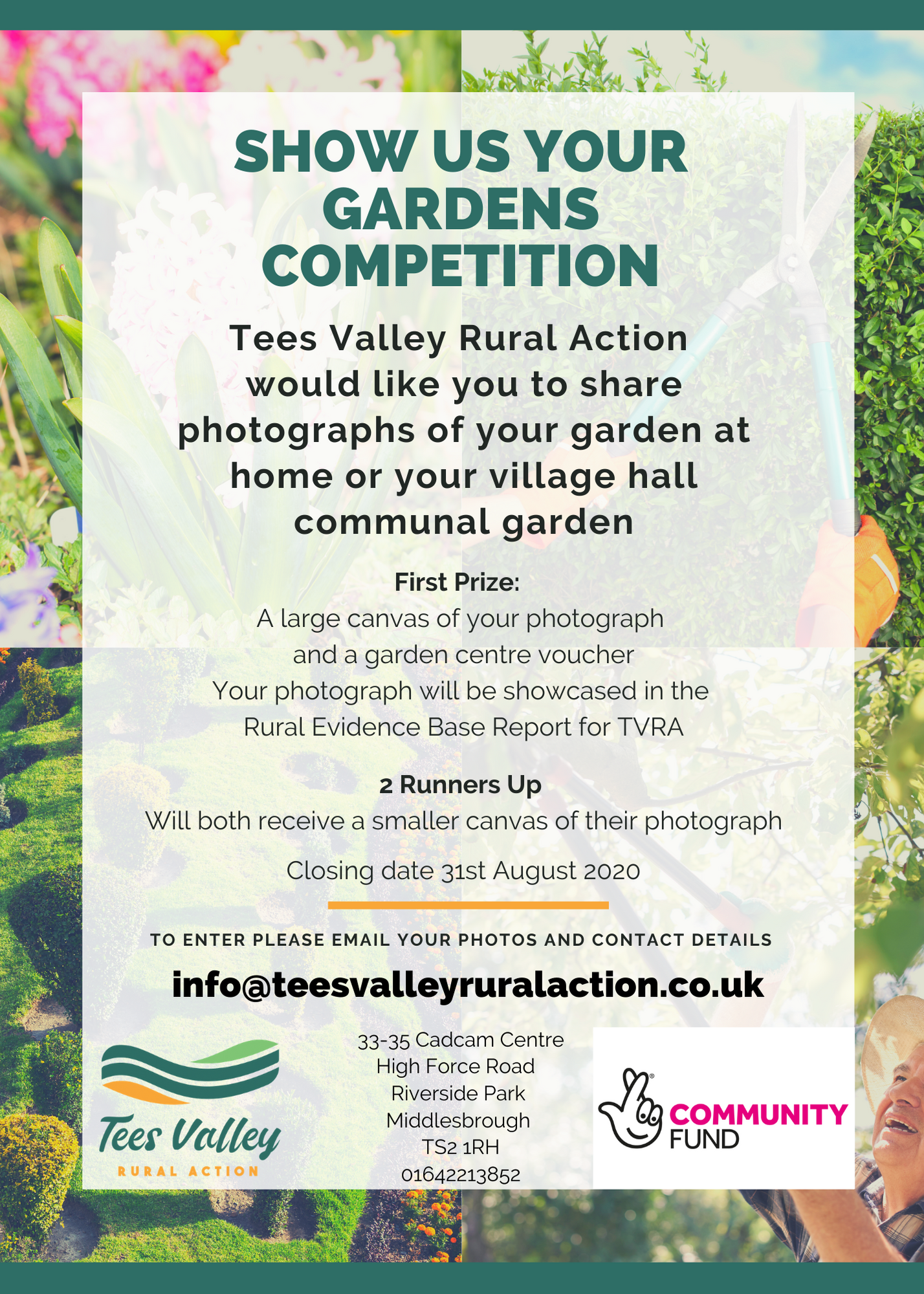 Tees Valley Rural Action Show Us Your Graden Competition
