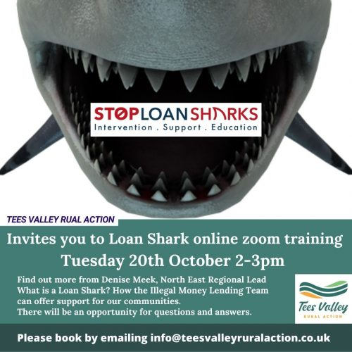 Tuesday 20th Loan Shark Training