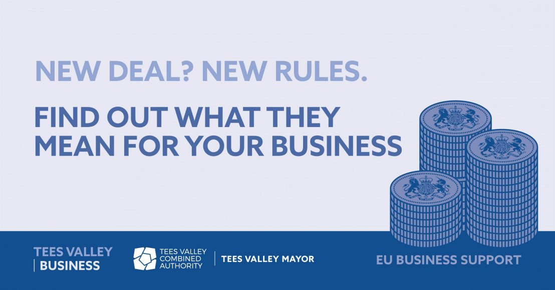 NEW DEAL? NEW RULES. Access free EU Business Support  to make sure you're up-to-date