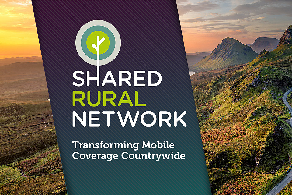 Invitation to participate in DCMS survey about rural network coverage (mobile)